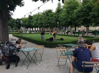 A little park in Bern