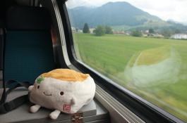Riding the Train, Switzerland