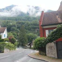 Cloudy Vaduz