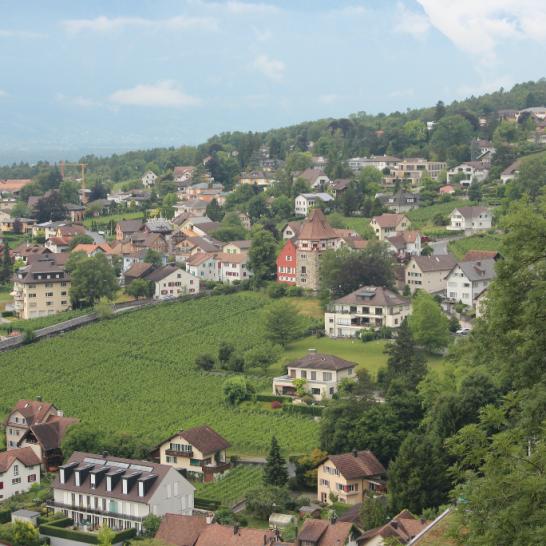 View of Vaduz