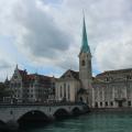 Zurich Downtown River