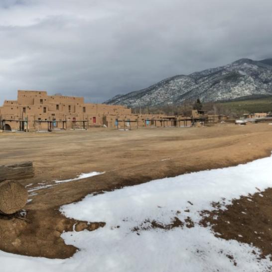 Taos Pueblo River