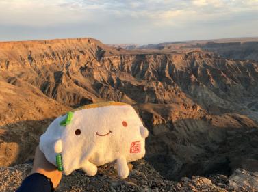 Tofu San at Fish River Canyon